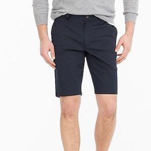 J crew men's 10.5 stretch shorts obsidian blue